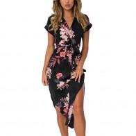 € 6.71 68% de DESCUENTO|Vestido de playa con estampado Floral a la moda bohemio Vestidos de verano para mujer vestido de fiesta ceñido al cuerpo Vintage talla grande S 3XL-in Vestidos from Ropa de mujer on Aliexpress.com | Alibaba Group