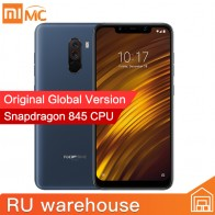 US $276.99 |Global Version Xiaomi POCOPHONE F1 6GB 64GB Smartphone Snapdragon 845 Octa Core 6.18