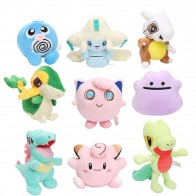 US $3.61 12% OFF|Pocket Plush Jirachi Jigglypuff Torchic Togepi Poliwhirl Cubone Totodile Ditto Treecko Snivy Stuffed Animal Dolls toys-in Stuffed & Plush Animals from Toys & Hobbies on Aliexpress.com | Alibaba Group