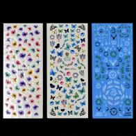 64.09 руб. |Цветы ногтей Вода трафаретные наклейки для маникюра переводные наклейки для ногтей дизайн красоты Переводные картинки с бабочками Nailart ZJT00280-in Наклейки и наклейки from Красота и здоровье on Aliexpress.com | Alibaba Group