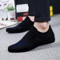US $36.69 8% OFF|Hot Summer Men Shoes Breathable Men Casual Shoes Low Lace up Mesh Male Shoes Comfortable Flat Shoes For Men Zapatillas Hombre-in Men