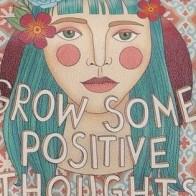 """Городской рюкзак """"Positive Thoughts"""" - Веселые рюкзаки Dogo"""