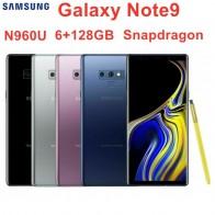 """Samsung Galaxy Note9 Nota 9 N960U 128GB ROM 6GB RAM Original LTE Octa Core 6,4 """"Dual 12MP NFC Snapdragon 845 teléfono móvil-in Los teléfonos móviles from Teléfonos celulares y telecomunicaciones on AliExpress"""