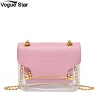 US $9.92 40% OFF|Clear Transparent PU Composite Messenger Bags New Female Handbag Fashion Women Brand Design Small Square Shoulder Bag M222-in Shoulder Bags from Luggage & Bags on Aliexpress.com | Alibaba Group