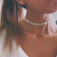 € 1.07 30% de DESCUENTO|Collar de gargantilla de plata Vintage joyería regalo Punk estrella diseño collares para mujeres fiesta Chocker joyería regalo #230615-in Collares tipo gargantilla from Joyería y accesorios on Aliexpress.com | Alibaba Group