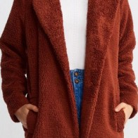 Женское пальто Dilvin ME-101A06760_Kiremit - Стильные пальто