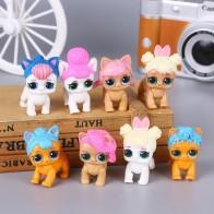 8 шт./компл. мультфильм собака ПВХ фигурка игрушка Волшебная кукла игрушки детские развивающие игрушки для девочек подарок на день рождения Рождество купить на AliExpress