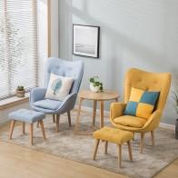 11143.85 руб. 17% СКИДКА|Скандинавский одноместный диван для гостиной, балкон, мини стул, современный минималистичный диван, индивидуальный стул для спальни-in Стулья для гостиной from Мебель on Aliexpress.com | Alibaba Group