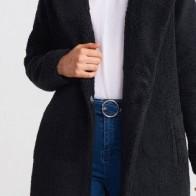 Женское пальто DILVIN ME-101A06760_Siyah - Стильные пальто