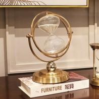 Часы напольные с таймером, креативные песочные часы в стиле ретро, время 60 минут, для гостиной, офиса, украшение для дома - Стильный дом