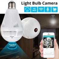 US $17.93 65% OFF|KERUI LED Light 960P Wireless Panoramic Home Security WiFi CCTV Fisheye Bulb Lamp IP Camera 360 Degree Home Security Burglar-in Surveillance Cameras from Security & Protection on Aliexpress.com | Alibaba Group