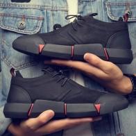 US $23.79 40% OFF|كبير حجم 46 جديد العلامة التجارية عالية الجودة جميع أسود الرجال جلد حذاء كاجوال أزياء رياضية الشقق أوكسفورد أحذية للرجال LG 1111-في أحذية رجالية غير رسمية من أحذية على Aliexpress.com | مجموعة Alibaba