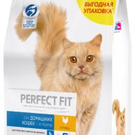 Купить Корм для кошек Perfect Fit с курицей 2.5 кг по низкой цене с доставкой из маркетплейса Беру