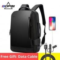 3591.36руб. 61% СКИДКА|BOPAI, брендовый рюкзак для увеличения, USB, внешняя зарядка, 15,6 дюймов, рюкзак для ноутбука, плечи, мужской, Противоугонный, водонепроницаемый, рюкзак для путешествий-in Рюкзаки from Багаж и сумки on AliExpress - 11.11_Double 11_Singles