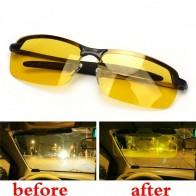 HD очки ночного видения для вождения, поляризованные солнцезащитные очки для вождения для мужчин и женщин, антибликовые очки ночного видения, УФ очки для водителя gafas-in Водительские очки from Автомобили и мотоциклы on AliExpress - Yellow Glasses
