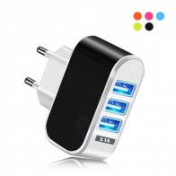 US $1.79 35% OFF USB Charger 3 Ports 5V2A Travel Wall Power Adapter EU Fast Charger Charging for Xiaomi Samsung HTC Huawei P20 Lite Smartphone-in Mobile Phone Chargers from Cellphones & Telecommunications on Aliexpress.com   Alibaba Group