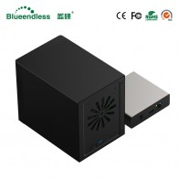 US $67.97 30% OFF|Gigabit Ethernet NAS HDD Enclosure Smart HDD Case for 2.5