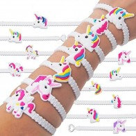 US $0.94 25% OFF|5pcs/set Fashion Children Lovely Animal Unicorn Bracelet Wristband Kids Mix Styles Charm Birthday Party Gift Bracelets cpdb70b31-in Charm Bracelets from Jewelry & Accessories on Aliexpress.com | Alibaba Group