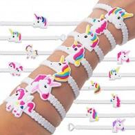 US $0.94 25% OFF|5pcs/set Fashion Children Lovely Animal Unicorn Bracelet Wristband Kids Mix Styles Charm Birthday Party Gift Bracelets cpdb70b31-in Charm Bracelets from Jewelry & Accessories on Aliexpress.com | Alibaba Group