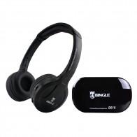 Bingle B616 Multifunction Wireless Stereo Headphones On Ear Headset FM Radio Wired Earphone Transmitter for MP3 PC TV Phones