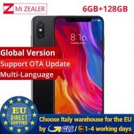25706.97 руб. |Глобальная версия Xiaomi Mi 8 6 ГБ оперативная память 128 Встроенная мобильный телефон Snapdragon 845 6,21