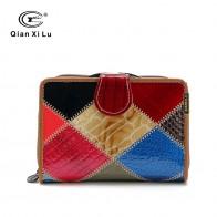 761.8 руб. 39% СКИДКА|Бренд qianxilu из натуральной лакированной кожи клетчатый женский кошелек карман для монет и женский кошелек индивидуальность-in Бумажники from Багаж и сумки on Aliexpress.com | Alibaba Group