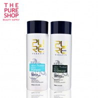US $10.17 46% OFF|Daily shampoo and daily conditioner for keraitn hair treatment 100ml professional use for after keraetin make hair smoothing-in Hair & Scalp Treatments from Beauty & Health on AliExpress