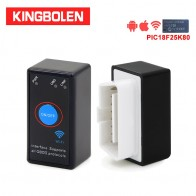 ELM327 WiFi V1.5 PIC18F25K80 Chip Power Switch on/off OBDII Diagnostic Tool iPhone/Android/PC ELM 327 OBD2 Torque