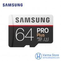 5383.89 руб. |Samsung TF карты MB MD PRO Plus microSD карты флэш памяти UHS I 64 ГБ U3 Class10 microSDXC высокоскоростной карты памяти купить на AliExpress
