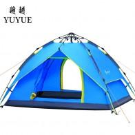 2623.15 руб. |3 4 человека всплывающие палатка Быстрый Автоматическое Открытие Водонепроницаемый туристическое снаряжение туризма на открытом воздухе двойные слои палатки-in Палатки from Спорт и развлечения on Aliexpress.com | Alibaba Group