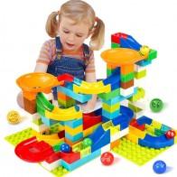 € 8.94 64% de réduction|104 208 pièces grande taille marbre course bloc de construction Compatible DuploINGlys piste blocs entonnoir glisser bloc jouets pour enfants-in Blocs from Jouets et loisirs on Aliexpress.com | Alibaba Group