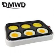 DMWD Электрический колесный торт яйцо бургер Многофункциональный гриль железная пластина тефтели Осьминог барбекю мясо сковорода для стейк... - Яичница