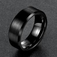 Мужское кольцо Somen, черное керамическое кольцо с начесом, обручальное кольцо, обручальное кольцо, модные мужские ювелирные изделия, Gilft Bague ...