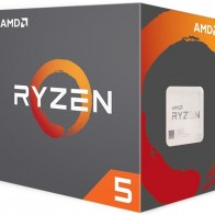 AMD Ryzen 5 1400 4 core (Quad Core) CPU with 3.20 GHz,  Да