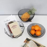 Популярные металлические кухонные чаши для хранения фруктов и овощей, держатель корзины для яиц, скандинавский минимализм, стиль A816 - Корзины для фруктов