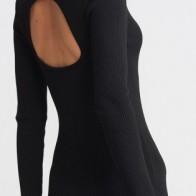 Женское платье Dilvin ME-101A02480_Siyah - платье на новый год