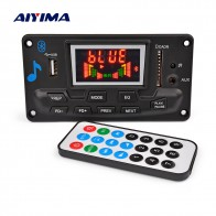 AIYIMA Multi Function Bluetooth MP3 Lossless APE Decoder Board With APP EQ FM Spectrum Display For Amplifiers Board Home Theater
