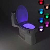 185.78 руб. 34% СКИДКА|Ванная комната Туалет свет светодиодный ночник движения тела активированный вкл/выкл лампа с сенсором для сидения 8 цветов PIR Туалет ночник лампа-in Ночники from Лампы и освещение on Aliexpress.com | Alibaba Group