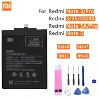 US $8.97 15% OFF|Xiao Mi Original Phone Battery BM47 For Xiaomi Redmi 3 3S 3X 4X 3 pro Note 3 5 5A Pro Mi 5X BM46 BN31 BN45 Replacement Batteries-in Mobile Phone Batteries from Cellphones & Telecommunications on Aliexpress.com | Alibaba Group