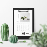 2020 Table Diy Calendar Weekly Planner Monthly Plan To Do List Desk Calendar Daily Simple Style Desktop Folder Calendar-in Calendar from Education & Office Supplies on AliExpress