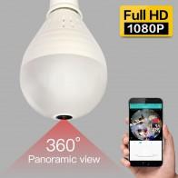 1330.73 руб. 55% СКИДКА|SDETER 1080 P 960 P Беспроводная ip камера Wifi лампочка рыбий глаз 360 градусов безопасности CCTV камера IR безопасность WiFi камера панорамная купить на AliExpress