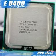 228.87 руб. |Процессор Intel Core 2 Duo E8400 cpu (3,0 ГГц/6 м/1333 ГГц) Двухъядерный разъем 775 (работает 100%) продажа E8500 E8600-in ЦП from Компьютер и офис on Aliexpress.com | Alibaba Group