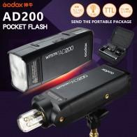 21281.27 руб. |Godox AD200 карманная вспышка для фотографирования импульсная вспышка 200 W с ttl с литиевой батареей для sony цифровой зеркальной камеры Canon Nikon Вспышка для фотоаппарата купить на AliExpress
