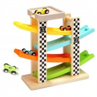 US $22.99 |Wooden Track Car Toys Gliding Cars Race 4 layers Slider Ladder Slot Track Play set for Kids Turn back Ramp Car Racing Games-in Diecasts & Toy Vehicles from Toys & Hobbies on Aliexpress.com | Alibaba Group