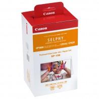 Набор для компактного принтера Canon Картридж + фотобумага RP-108