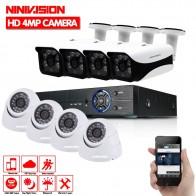€ 243.66 37% de réduction|Nouveau Super Full HD 8CH AHD 4MP maison système de caméra de vidéosurveillance intérieure extérieure 8 canaux 6 kit de caméra de sécurité de Surveillance avec dvr-in Système De Surveillance from Sécurité et Protection on Aliexpress.com | Alibaba Group