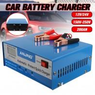 1791.05 руб. 17% СКИДКА|12 V/24 V 150 V 250 V 200AH свинцово кислотная батарея PWM US автомобильное зарядное устройство подходит для пяти режимов зарядки цифровой импульсный ремонт on Aliexpress.com | Alibaba Group