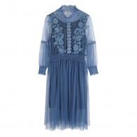 2268.14 руб. 25% СКИДКА|Новая мода кружева марли плюс размер женщин-in Платья from Женская одежда on Aliexpress.com | Alibaba Group