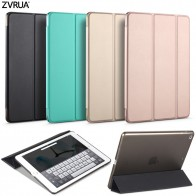 587.46 руб. 45% СКИДКА|Чехол для нового iPad 9,7 дюймов 2017 2018, zvrua ура Цвет ПУ Чехол магнит проснуться сна модель A1822 A1823 A1893 A1954 купить на AliExpress