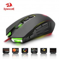 Redragon USB Gaming Mouse 10000DPI 9 buttons ergonomic design for desktop computer accessories programmable Mice gamer lol PC-in Mice from Computer & Office on Aliexpress.com | Alibaba Group